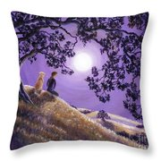 Oak Tree Meditation Throw Pillow