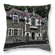 Oakdale Workmens Institute Throw Pillow