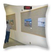 Oakwood Exhibit 3 Throw Pillow
