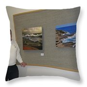 Oakwood January Show 1 Throw Pillow