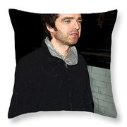 Oasis's Noel Gallagher Throw Pillow