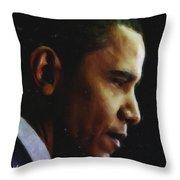 Obama1 Art Throw Pillow
