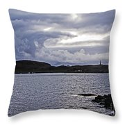 Oban Bay Beauty Throw Pillow