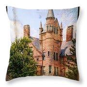 Oberlin College Throw Pillow