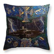 Observatory Life By Alfredo Garcia Throw Pillow