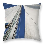 Obsession Sails 2 Throw Pillow