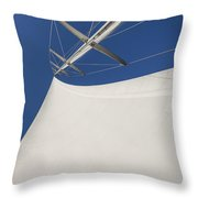 Obsession Sails 4 Throw Pillow