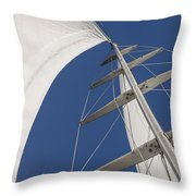 Obsession Sails 5 Throw Pillow