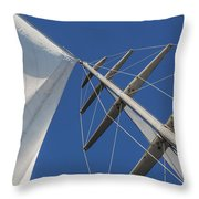 Obsession Sails 6 Throw Pillow