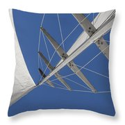 Obsession Sails 7 Throw Pillow