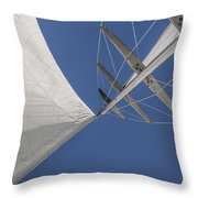 Obsession Sails 8 Throw Pillow