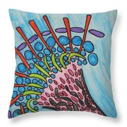 Obstacles A La Sortie Throw Pillow