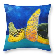 Obx Turtle Throw Pillow