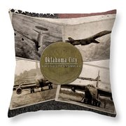 Oc-alc Vintage Throw Pillow