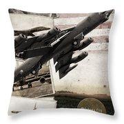 Oc-alc Vintage...b-52  Throw Pillow