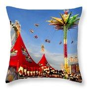 Oc Fair Fun Throw Pillow