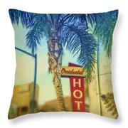 Occidental Hotel Throw Pillow