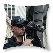 Occupy Chicago Viii Throw Pillow