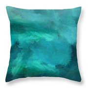 Ocean 5 Throw Pillow