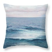 Ocean By Jan Matson Throw Pillow