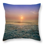 Ocean City Sunrise Throw Pillow