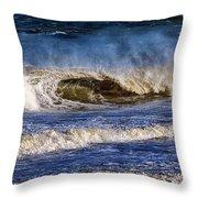 Ocean City Surf's Up Throw Pillow
