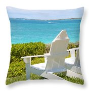 Ocean Club Throw Pillow