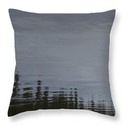 Ocean Commotion Throw Pillow