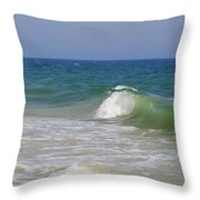 Ocean Crest Throw Pillow