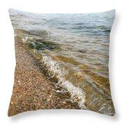 Ocean Curl Throw Pillow