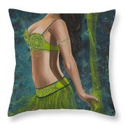 Ocean Dancer Throw Pillow