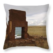 Ocean Front Throw Pillow