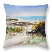 Ocean Front Throw Pillow