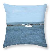 Ocean Goer Throw Pillow