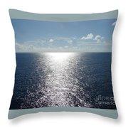 Ocean Horizon Throw Pillow