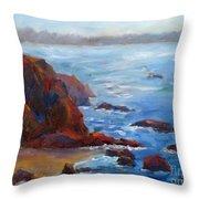 Ocean Light Throw Pillow