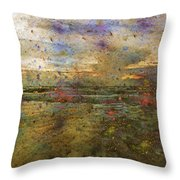 Ocean Morning I  Throw Pillow