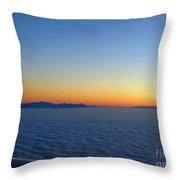 Ocean Of Cloud 2 Throw Pillow