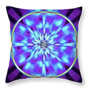 Ocean Of Color Throw Pillow by Derek Gedney