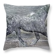 Ocean Of One II Of II Throw Pillow
