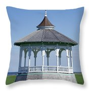 Ocean Park Gazebo Throw Pillow