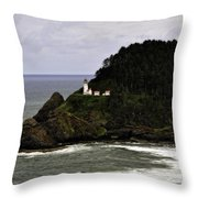 Ocean Photography Throw Pillow