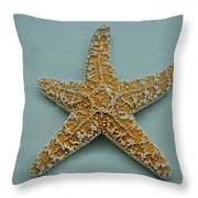 Ocean Star Fish Throw Pillow