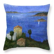 Ocean View II Throw Pillow