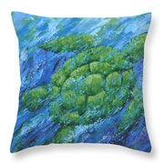 Ocean Voyager Throw Pillow