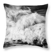 Ocean Wave I Throw Pillow