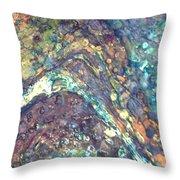 Ocean Waves 008 Throw Pillow