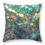Ocean Waves 005 Throw Pillow