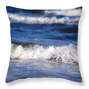 Ocean Waves Throw Pillow