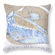 Ocean Whispers Throw Pillow